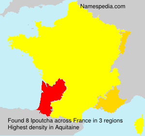 Surname Ipoutcha in France