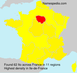 Surname Ito in France