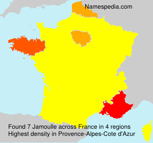 Surname Jamoulle in France