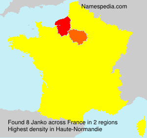 Surname Janko in France