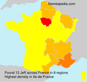 Surname Jeff in France