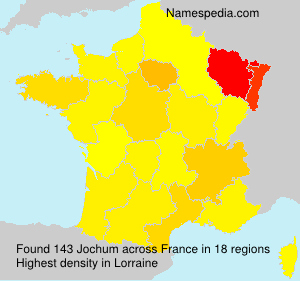 Surname Jochum in France