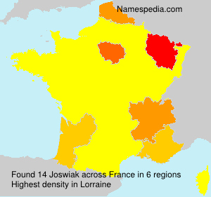 Surname Joswiak in France