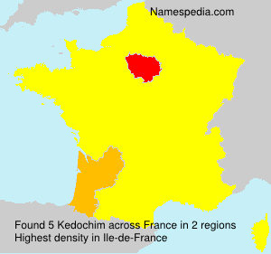 Surname Kedochim in France