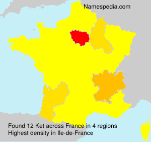 Surname Ket in France