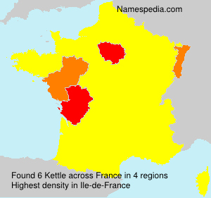 Surname Kettle in France