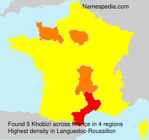 Surname Khobizi in France