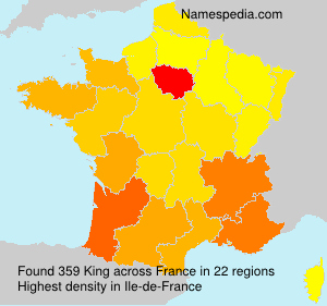 Surname King in France