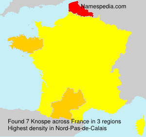 Surname Knospe in France
