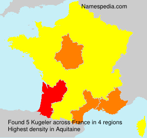 Surname Kugeler in France