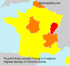 Surname Kulcu in France