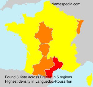 Surname Kyte in France