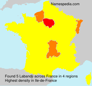 Surname Labandji in France