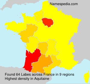 Surname Labes in France