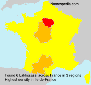 Surname Lakhssassi in France