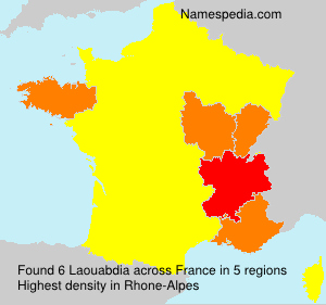 Surname Laouabdia in France