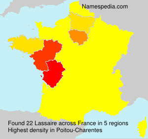 Surname Lassaire in France