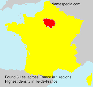 Surname Lesi in France