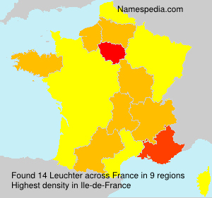 Surname Leuchter in France