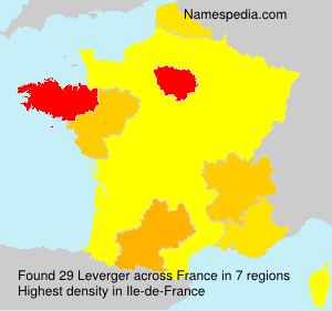 Surname Leverger in France