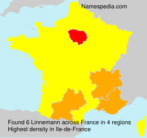 Surname Linnemann in France