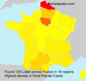 Surname Lobel in France