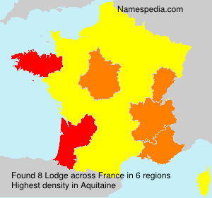 Surname Lodge in France