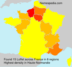 Surname Loffet in France