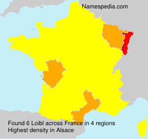 Surname Loibl in France