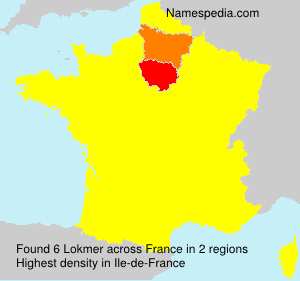 Surname Lokmer in France