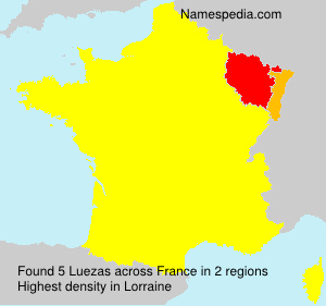 Surname Luezas in France