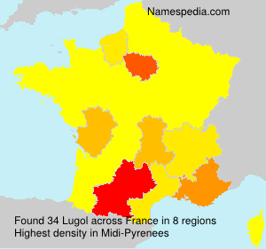 Surname Lugol in France