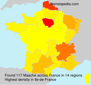 Surname Maache in France