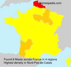 Surname Maala in France