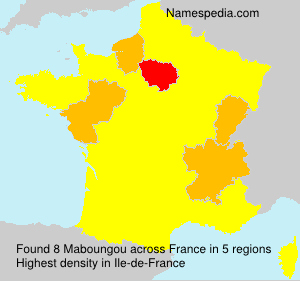 Surname Maboungou in France