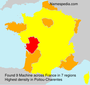 Surname Machine in France