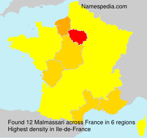 Surname Malmassari in France