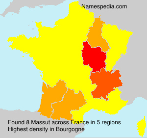 Surname Massut in France