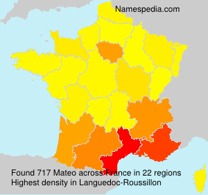 Surname Mateo in France