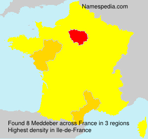 Surname Meddeber in France