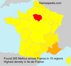 Surname Melloul in France