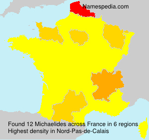 Surname Michaelides in France