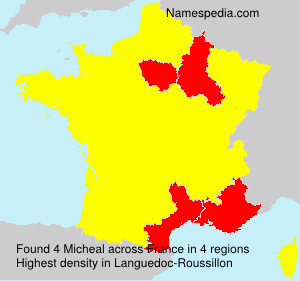 Surname Micheal in France