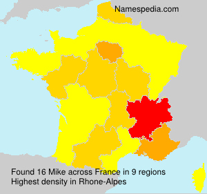 Surname Mike in France