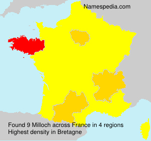 Surname Milloch in France