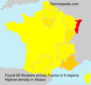 Surname Mockers in France