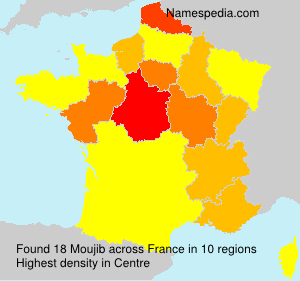 Surname Moujib in France