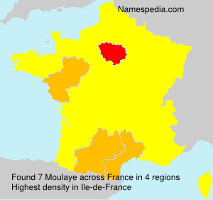 Surname Moulaye in France