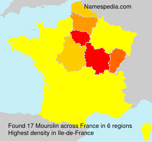 Surname Mourolin in France