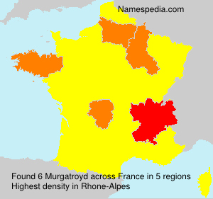 Surname Murgatroyd in France